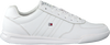Witte TOMMY HILFIGER Lage sneakers LIGHTWEIGHT FLAG  - small