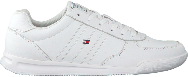 Witte TOMMY HILFIGER Lage sneakers LIGHTWEIGHT FLAG  - large