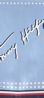 Blauwe TOMMY HILFIGER Sjaal SIGNATURE BANDANA  - medium