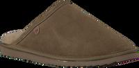 Groene WARMBAT Pantoffels CLASSIC UNISEX SUEDE  - medium