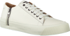DIESEL Baskets ZIP-TURF en blanc - small