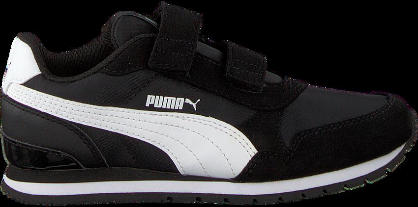 PUMA Baskets ST.RUNNER JR en noir - larger
