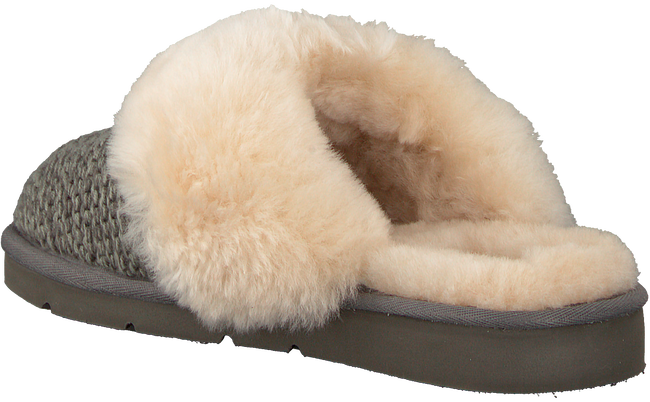 UGG Chaussons COZY KNIT SLIPPER en gris - large