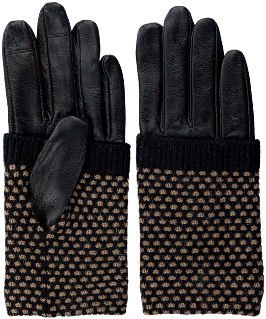 BECKSONDERGAARD Gants RIGA GLOVE en noir  - large