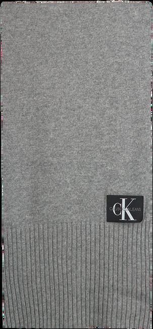 CALVIN KLEIN Foulard J BASIC MEN KNITTED SCARF en gris  - large