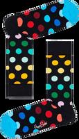 Zwarte HAPPY SOCKS Sokken BIG DOT  - medium