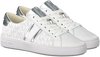 Witte MICHAEL KORS Lage sneakers IRVING STRIPE LACE UP  - small