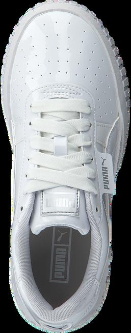 Witte PUMA Lage sneakers CALI PATENT JR  - large