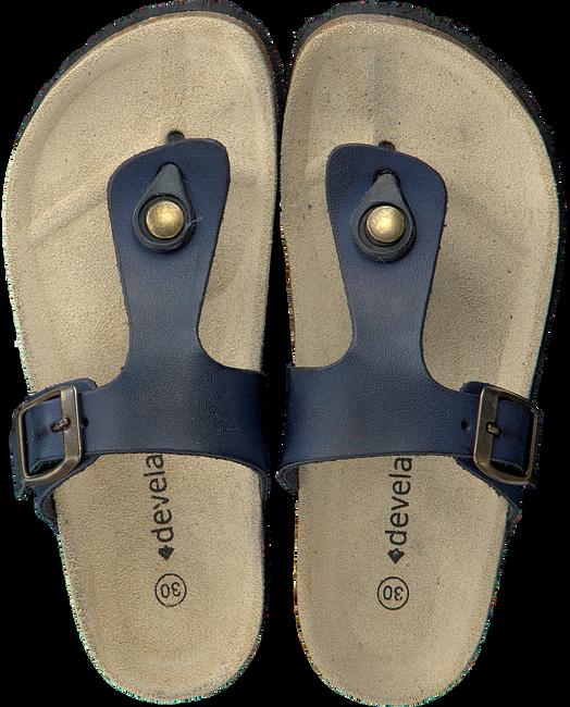 DEVELAB Sandales 48005 en bleu - large