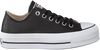 CONVERSE Baskets CHUCK TAYLOR ALLSTAR LIFT CLEA en noir  - small