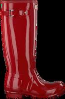 HUNTER Bottes en caoutchouc WOMENS ORIGINAL TALL en rouge - medium