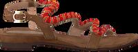 LAZAMANI Sandales 85.268 en rouge  - medium
