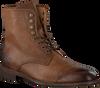 MAZZELTOV Chaussures à lacets 3706 en cognac  - small