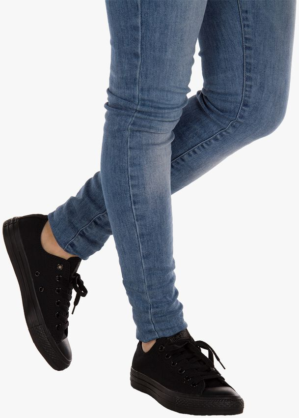 Zwarte CONVERSE Sneakers  CHUCK TAYLOR ALL STAR OX DAMES - larger
