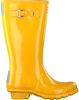 HUNTER Bottes en caoutchouc ORIGINAL KIDS GLOSS en jaune - small