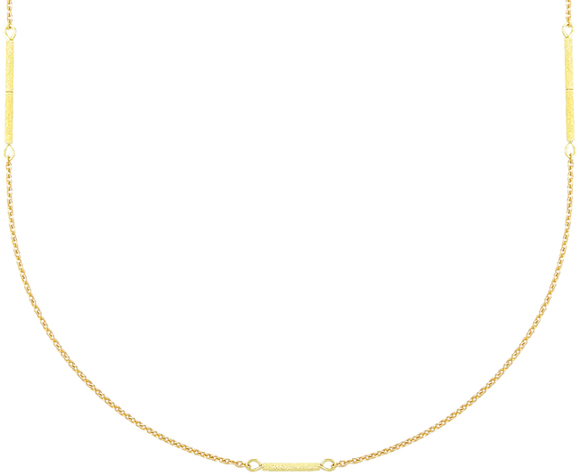 Gouden JEWELLERY BY SOPHIE Ketting LONG NECKLACE - large