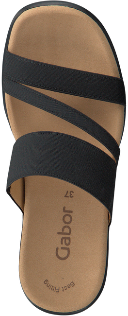 Zwarte GABOR Slippers 702  - large