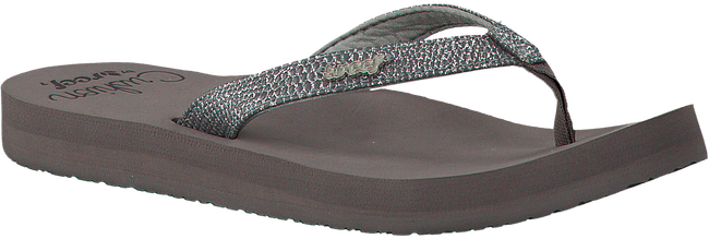 REEF Tongs STAR CUSHION SASSY en gris - large