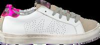 P448 Baskets 261913002 en blanc  - medium