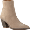 OMODA Bottines ELLA OBLIQUE 10-N en taupe  - small