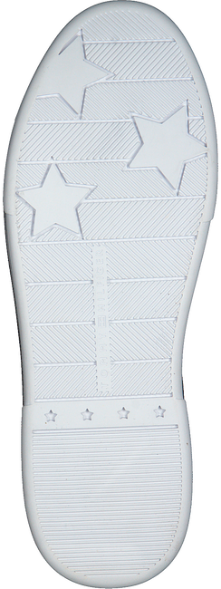 Zwarte TOMMY HILFIGER Lage sneakers BRANDED OUTSOLE METALLIC  - large