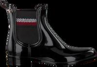 TOMMY HILFIGER Bottines CORPORATE RAINBOOT en noir  - medium