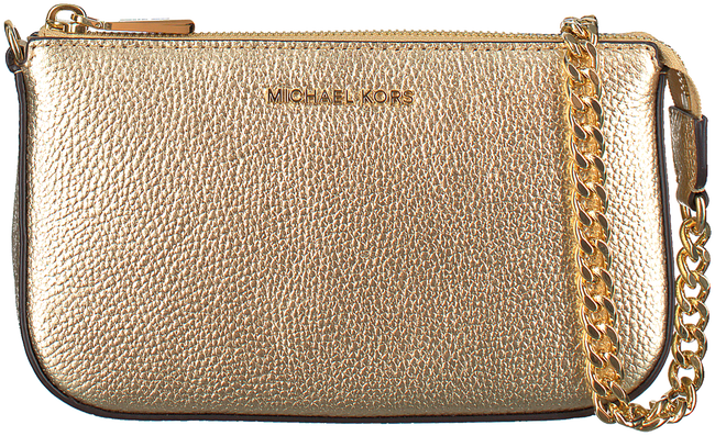 MICHAEL KORS Sac bandoulière MD CHAIN POUCHETTE en or - large