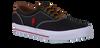 POLO RALPH LAUREN Chaussures à lacets VAUGHN en noir - small