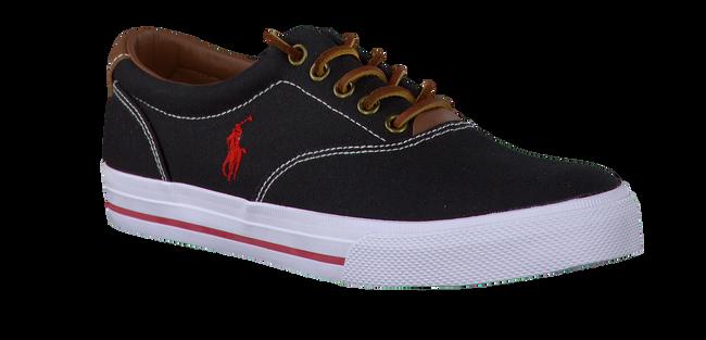 POLO RALPH LAUREN Chaussures à lacets VAUGHN en noir - large