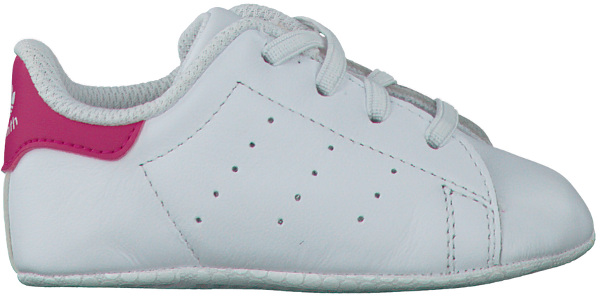 ADIDAS Chaussures bébé STAN SMITH CRIB en blanc - larger