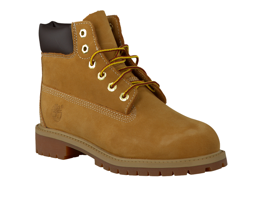 Camel TIMBERLAND Veterboots 6IN PRM WP BOOT KIDS - larger