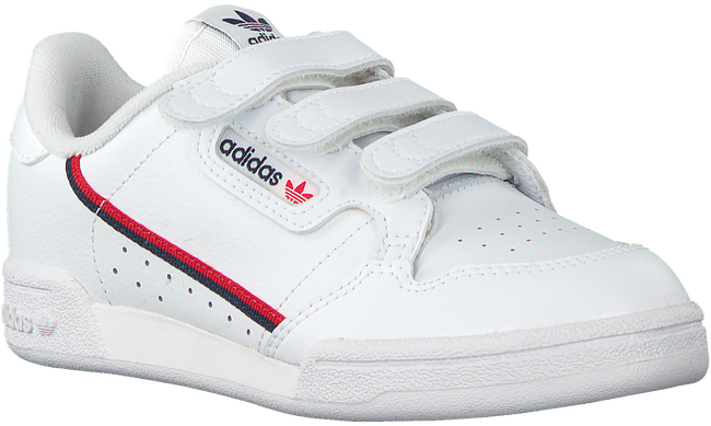 Witte ADIDAS Lage sneakers CONTINENTAL 80 CF C  - large
