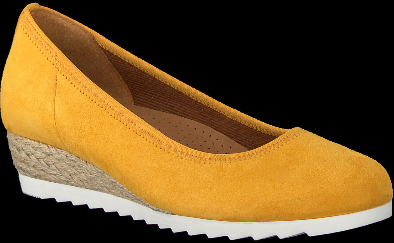 GABOR Chaussures à enfiler 641 en jaune Omoda.be