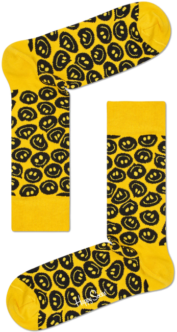 HAPPY SOCKS Chaussettes TWISTED SMILE - large