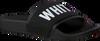 THE WHITE BRAND Tongs ELASTIC MINIMAL KIDS en noir - small