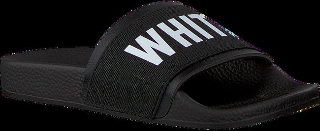 THE WHITE BRAND Tongs ELASTIC MINIMAL KIDS en noir - large
