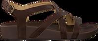 brown OLUKAI shoe NANA  - medium