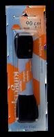 Zwarte RINGPOINT Veters VETER PLAT 90 CM - medium