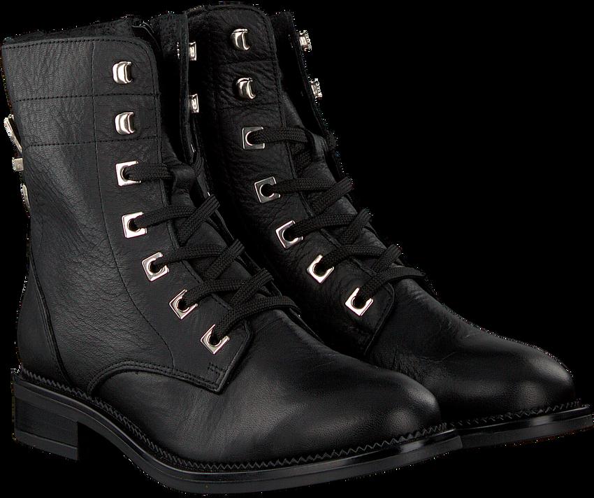 OMODA Bottines à lacets P15924 en noir - larger