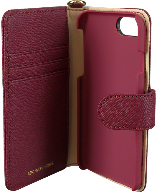 MICHAEL KORS Mobile-tablettehousse FOLIO PHN CSE TAB en rouge - large