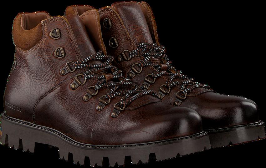 MAZZELTOV Chaussures à lacets MBOSS604.NEW OMODA en marron  - larger