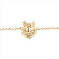 Gouden ATLITW STUDIO Armband SOUVENIR EARRINGS WOLF - medium