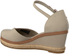 TOMMY HILFIGER Sandales BASIC CLOSED TOE MID WEDGE en gris  - small