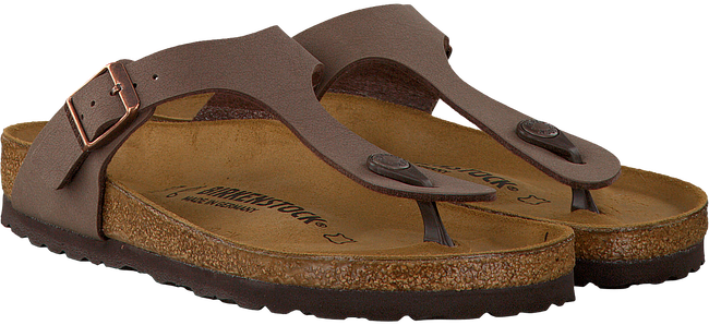 BIRKENSTOCK PAPILLIO Tongs GIZEH en marron - large