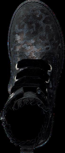 CLIC! Bottines à lacets 9271 en noir - large