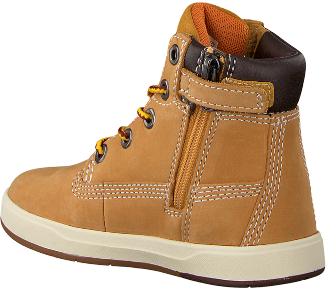 Camel TIMBERLAND Sneakers DAVIS SQUARE 6 INCH KIDS - large