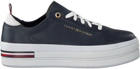 Blauwe TOMMY HILFIGER Lage sneakers MODERN FLATFORM  - medium