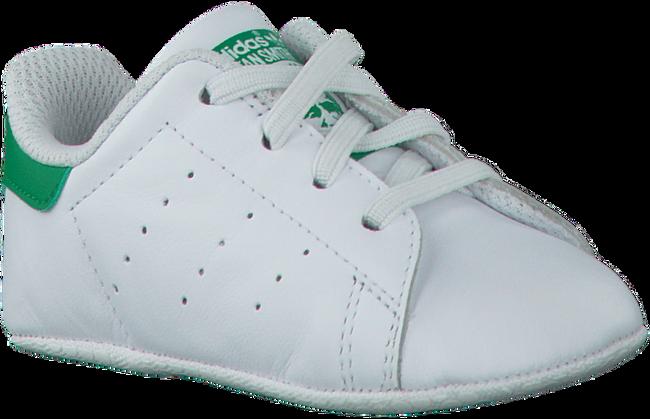 ADIDAS Chaussures bébé STAN SMITH CRIB en blanc - large