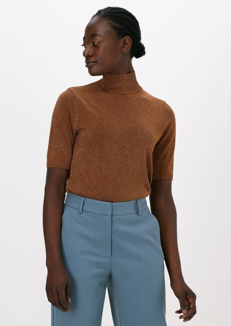 Bruine MINUS Top LIMA ROLL NECK KNIT - large