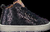 Blauwe DEVELAB Hoge sneaker 41082  - medium